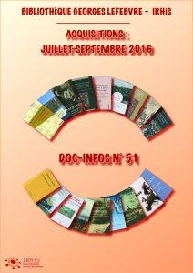 biblio-juillet-sept2016